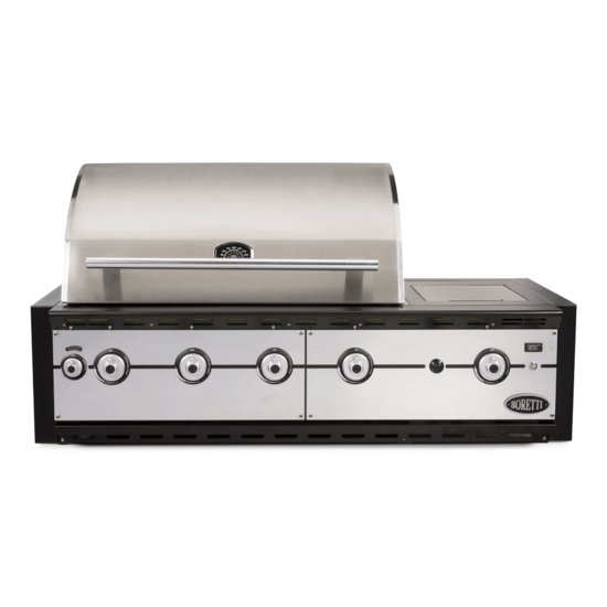 Ligorio Top Gas Built-Inbarbecue