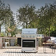 Maggiore Stainless Steel Gasbarbecue
