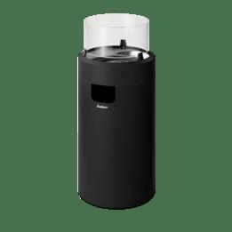 Terrassvärmare NOVA LED - svart/krom
