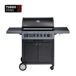 Gasolgrill Boston Black 4 IK Turbo