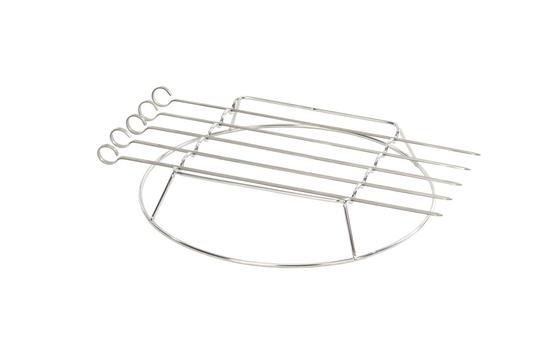 5st grillspett med hållare: tillbehör Cooking Grill system