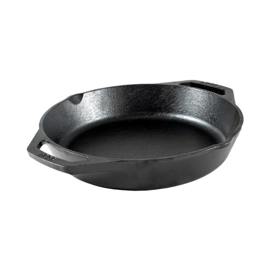 Gjutjärnspanna med dubbla handtag 26,04 cm