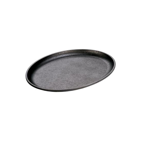 Gjutjärnsplatta oval 33,66x25,4 cm