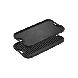 Stekplatta/grillplatta gjutjärn 51x27 cm